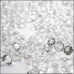 Clear Scatter Crystals