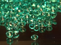 Green Scatter Crystals