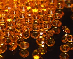 Orange Scatter Crystals