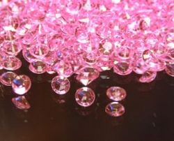 Pink Scatter Crystals