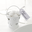 Heart Pails - 5 Pack - White