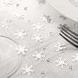 Snowflake Confetti and Diamonds