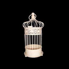 Large Ivory Bird Cage
