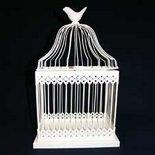 Canary Ivory Bird Cage