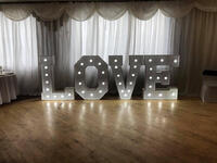 Love Lighted Letters