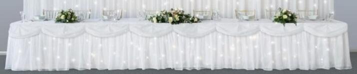 Starlight Table Skirt